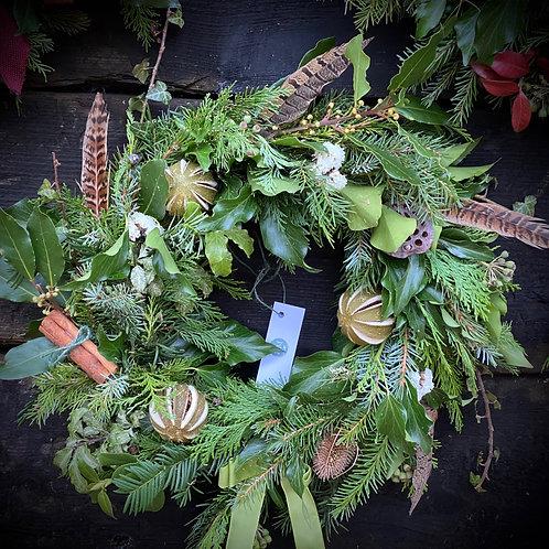 Luxury Hunter Gatherer Wreath