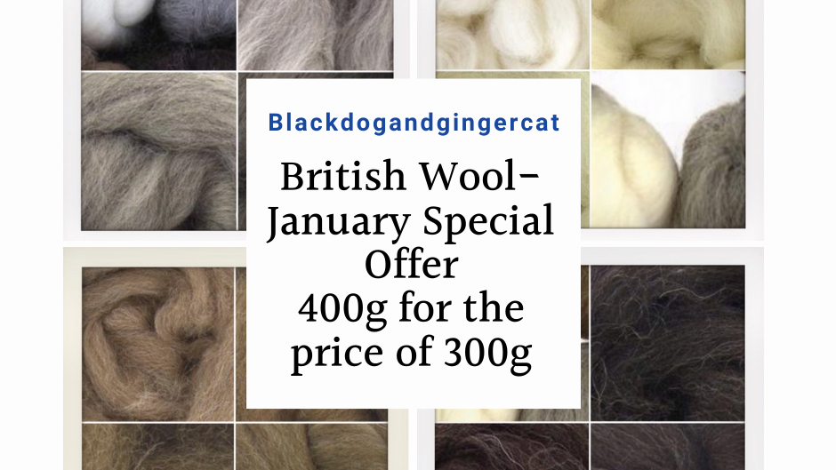 British Wool Naturals - January Special Offer 400g for the price of 300g