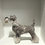 Thumbnail: Schnauzer dog needle felt kit -  oh so very challenging kits