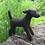 Thumbnail: Black dog needle felt kit - for those with needle felting experience