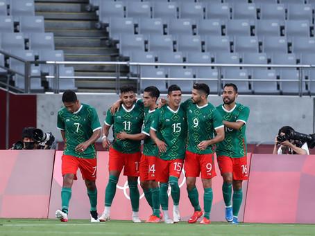 México le pasa por encima a Francia 4 -1 en el inicio del fútbol en los olímpicos de Tokio 2020