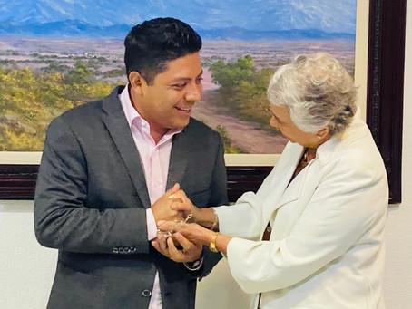 Felicita Gallardo Cardona a nuevo titular de la SEGOB