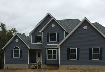 Beautiful custom built house with a beautiful solid foundation