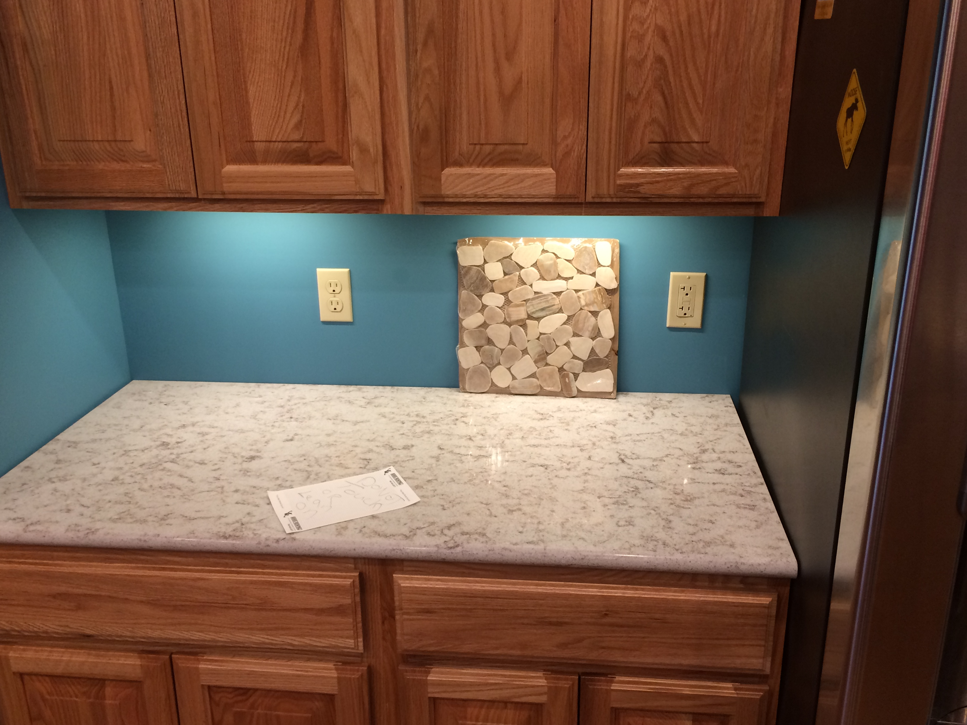 Kitchen remodels; kitchen backsplash