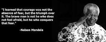 Angst volgens Nelson Mandela, YaYij.