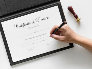 The Basics: Separation and dissolution of marriage