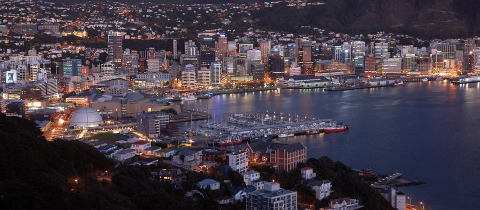 wellington-harbour