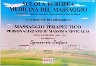 Certificat de Massage Thérapeutique