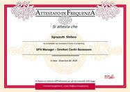 Certificat de SPA Manager