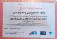 Certificat de réflexologie plantaire