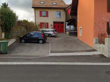 Parking gratuit à disposition