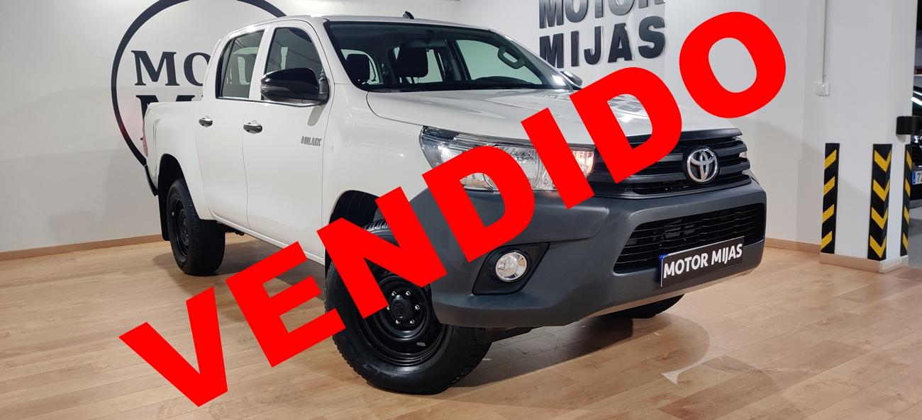 Toyota Hilux VENDIDO
