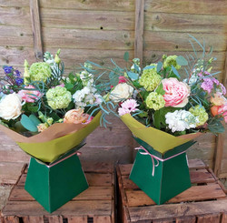 Hand-Tied Bouquet in a Gift Box