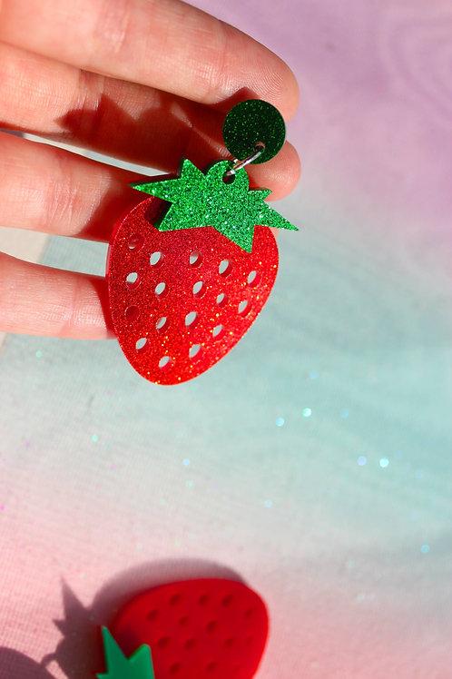 Glitter Strawberry Dream