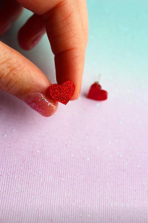 Mini Rødt Hjerte