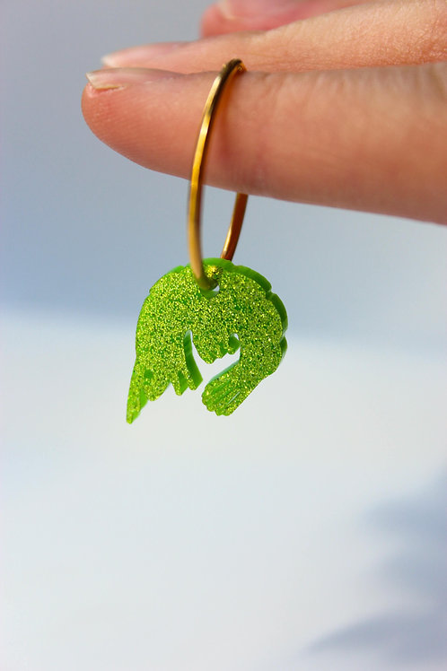 Green Shimp Pendant