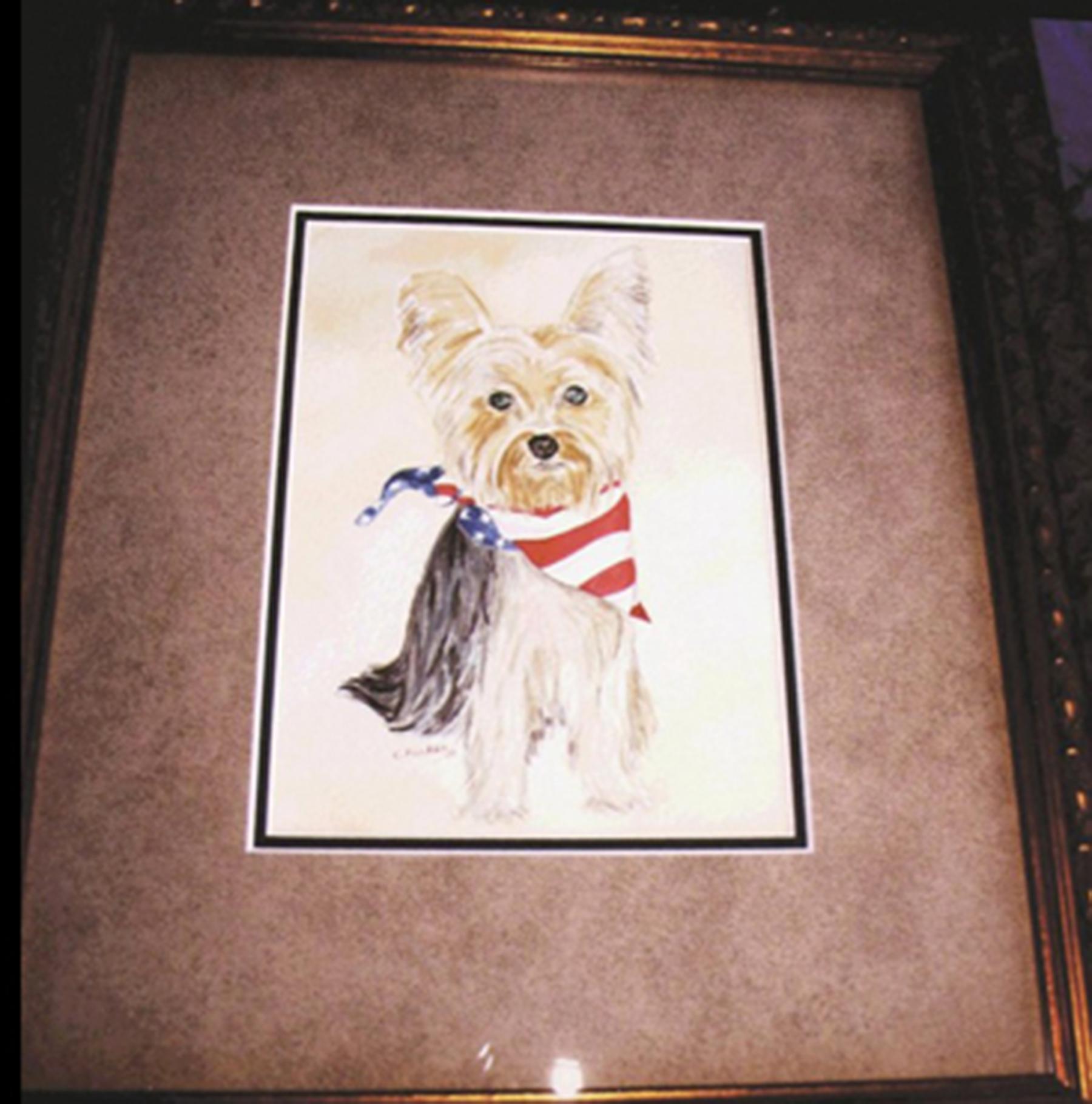 Max - Dog Watercolor