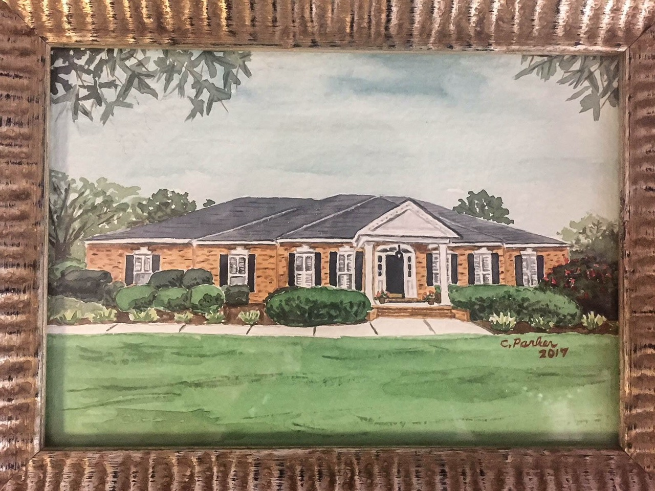 House Watercolor
