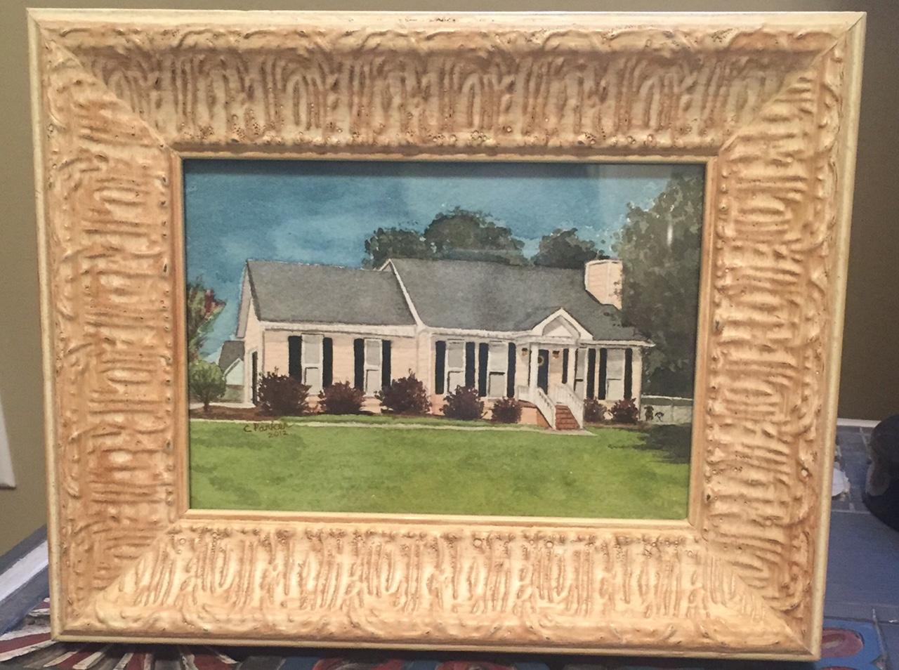 Rachel's House - House Watercolor