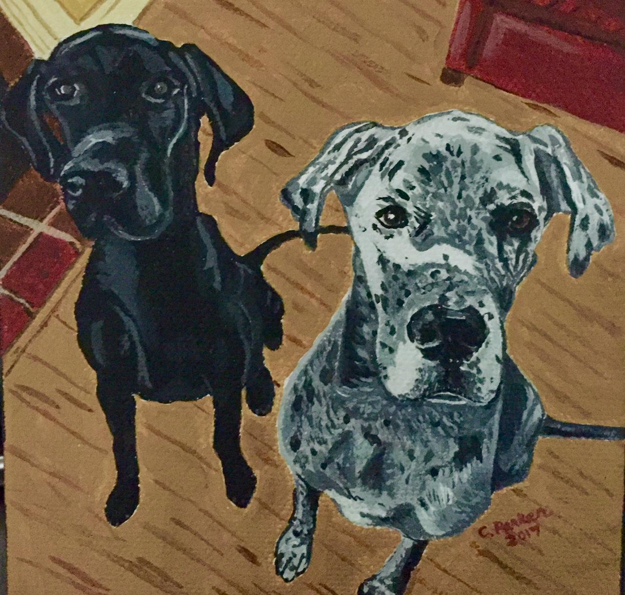 2 Friends Acrylic