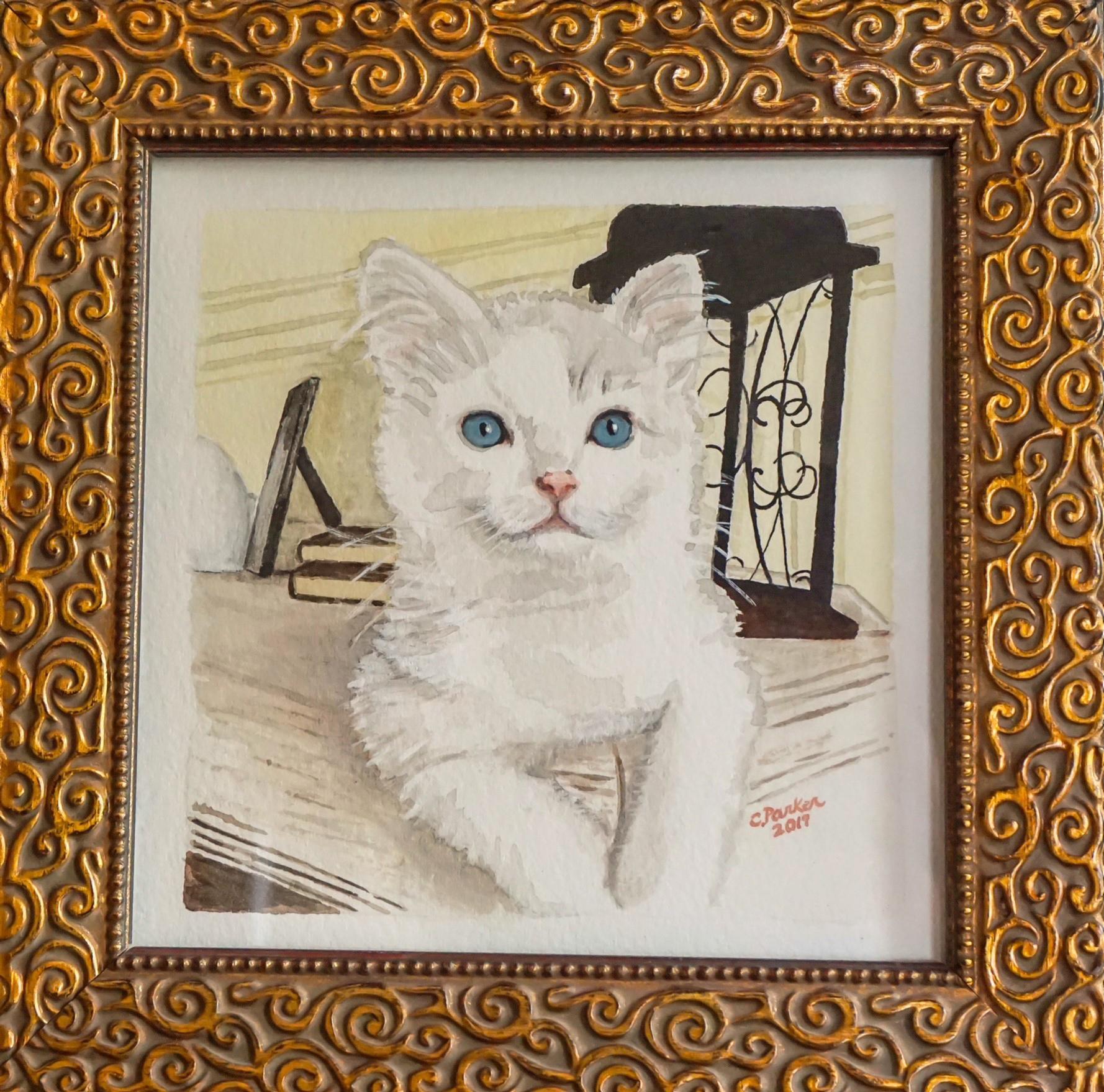 Reese - Cat Watercolor