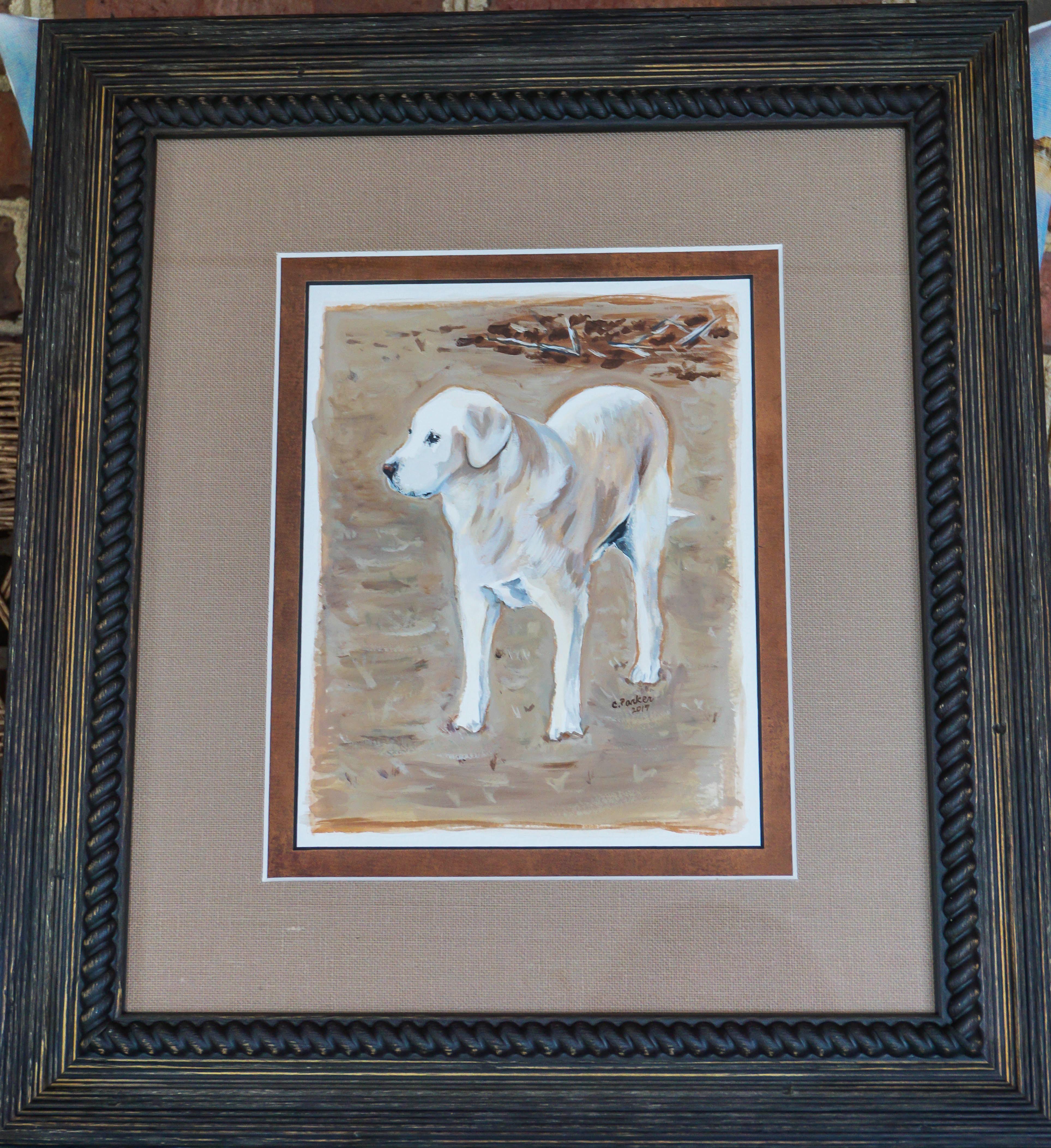 Pete - Dog Watercolor