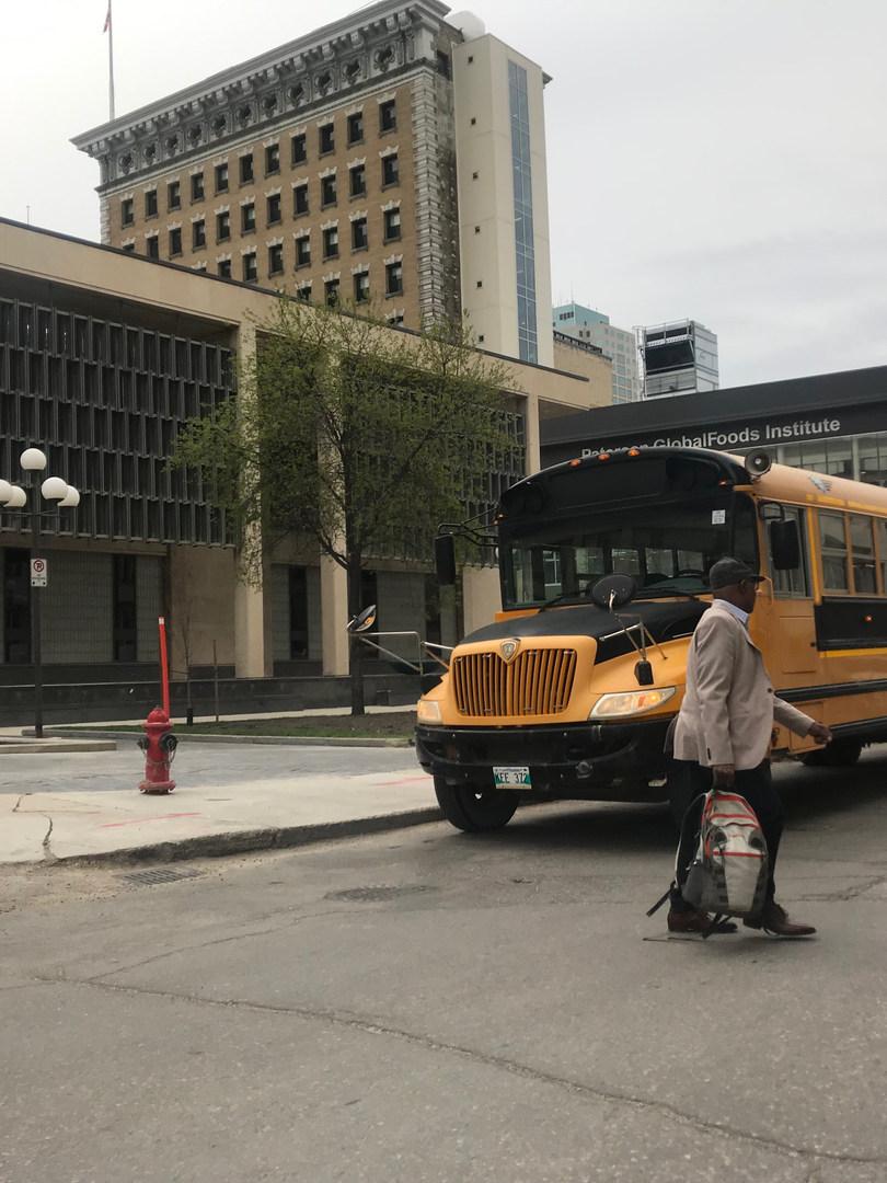 Outside City Hall