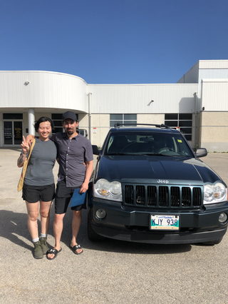 New Jeep to take on northern Manitoba! Thank you Brian and Yan!