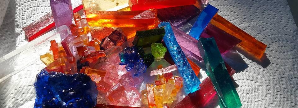 Teselas en resina Taller de Mosaico Urug