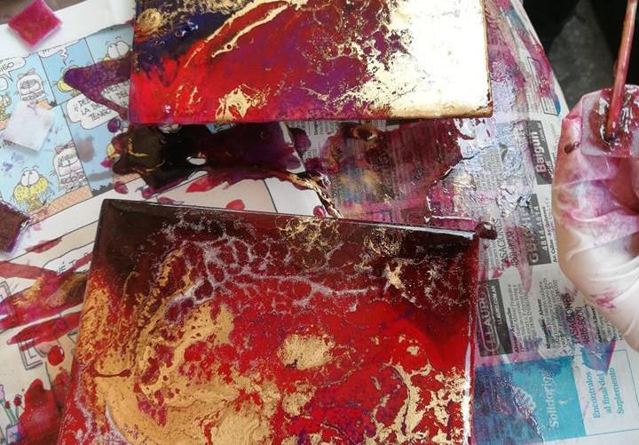 Azulejos Metalizados Liliana Waisman