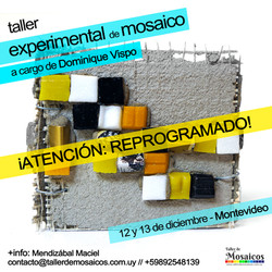 Mosaico Experimental Dominique Vispo Uruguay