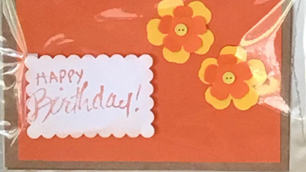 "Kaartje ""Happy Birthday"""