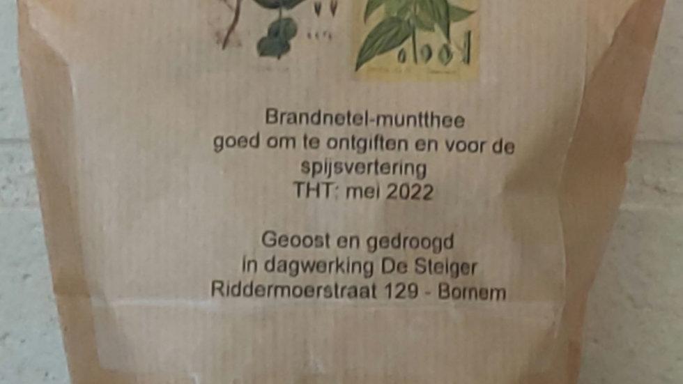 Brandnetel-muntthee