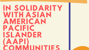 KAIRE In Solidarity With Asian American Pacific Islander Communities (AAPI) and the Cha Family