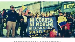 IMA USA Condemn Moreno's Repression & Neoliberal Scheme