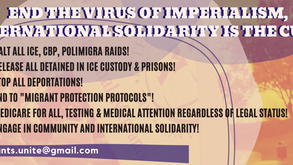 End the Virus of Imperialism! International Solidarity is the Cure!