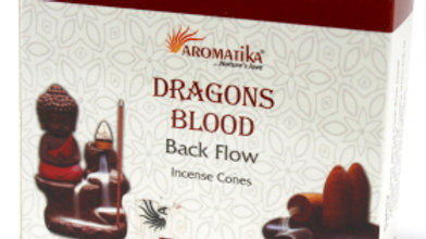 Dragons Blood Back Flow Incense Cones