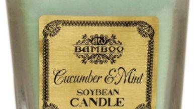 Soybean Jar Candle - Cucumber & Mint