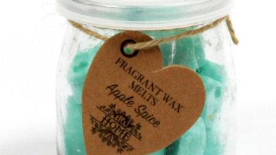 Apple Spice Soywax Melts Jar