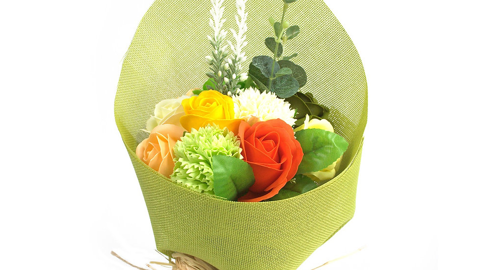 Standing Soap Flower Bouquet - Spring
