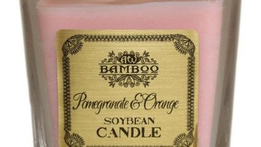 Soybean Jar Candle - Pomegranate & Orange