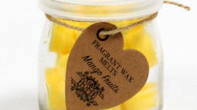 Mango Fruits Soywax Melts Jar