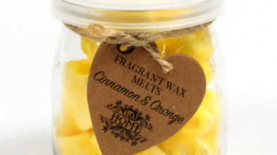 Cinnamon & Orange Soywax Melts Jar
