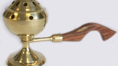 Plain Censer Brass Incense Cone Burner