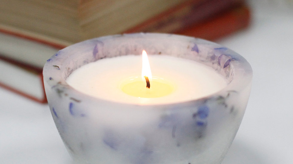 Enchanted Candle - Large Bowl - Lavender