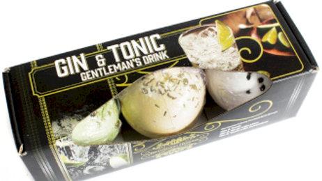 Set of Three Gin & Tonic Bath Bombs