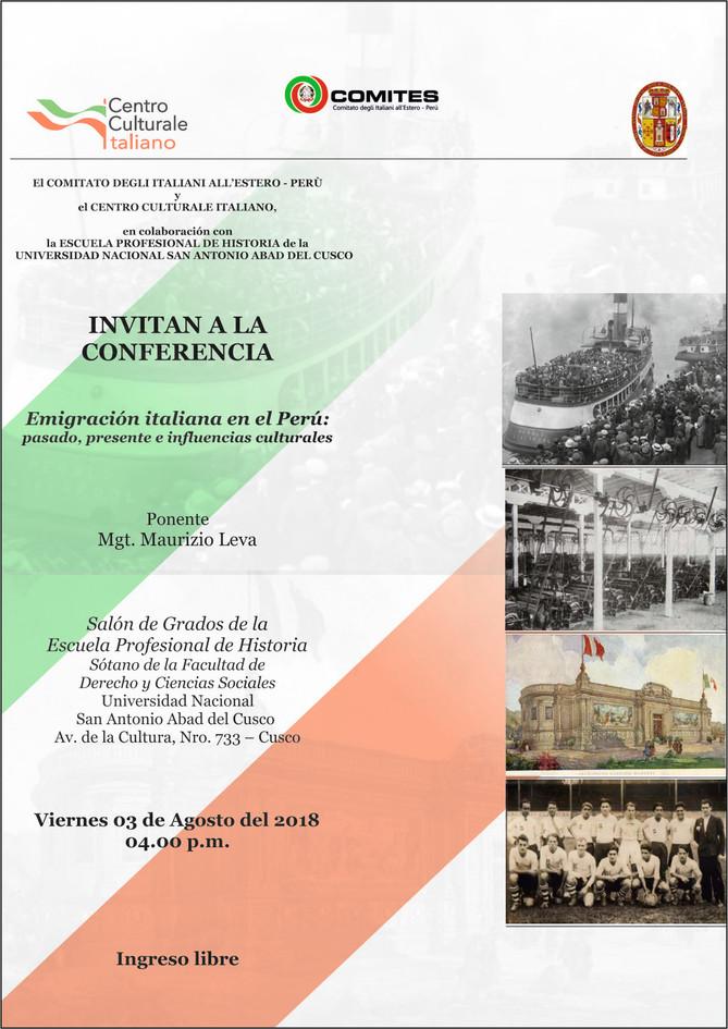 Emigración Italiana en el Perú