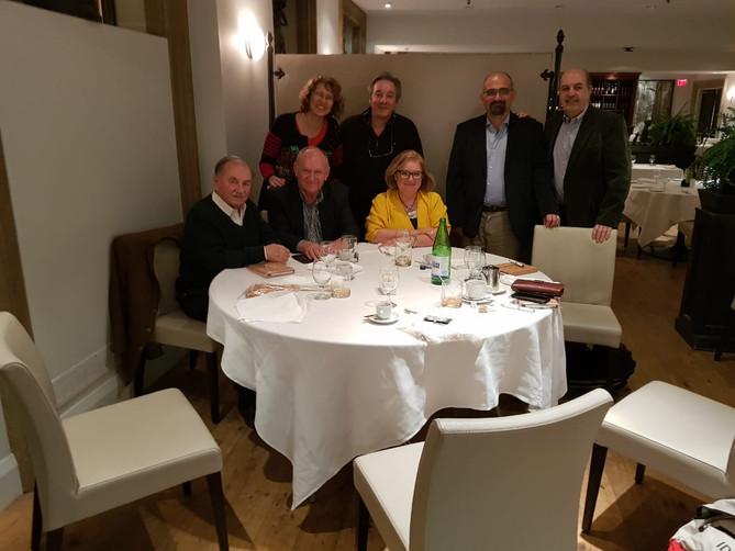 Nella giornata di ieri, presso il ristorante Boccaccio del Columbus Centre di Toronto, il Vice Presi