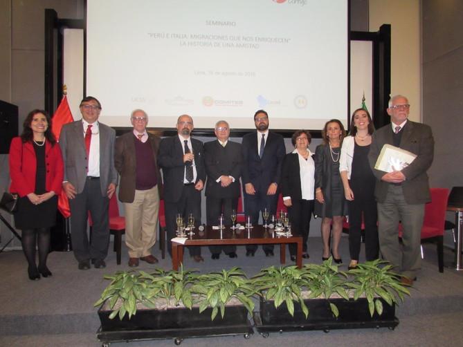 Conferencia sobre la Inmigración Italiana