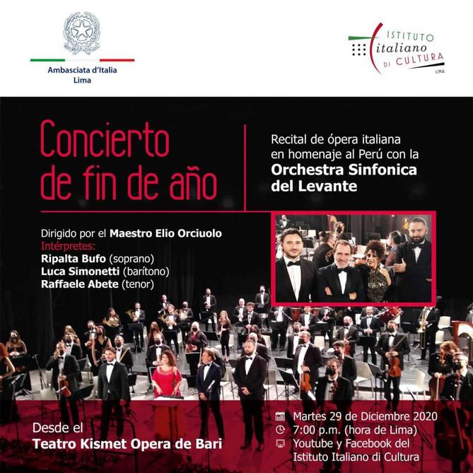 Invito Concerto Fine Anno